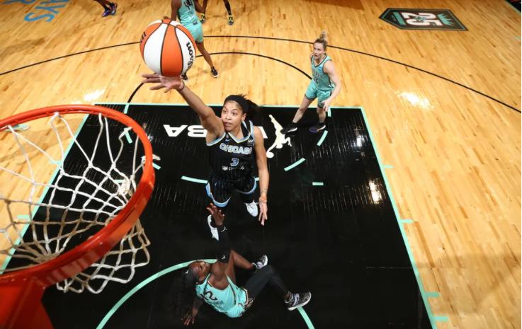 Candace Parker: Se convierte en la primera mujer en aparecer en la portada de NBA 2K
